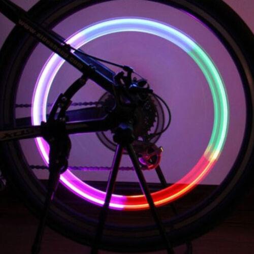 Lâmpada De Led 2pcs Pneu Roda Tampa De Válvula De Pneu Com Led Para Carro Bicicleta Supply Z3Q7