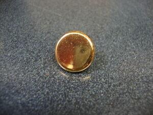 Genuine Jupiter Trumpet Finger Button (1), Gold Plated NEW! I1