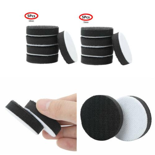 5Pcs Soft Density Interface Hook/&Loop Polish Sponge Cushions Buffer Backing Pads