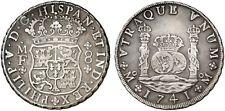 1741 Spanish Silver Coin Felipe V 8 Reales SS 289-1111