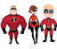 Incredibles Plush Toy Kids Soft Doll Mr Incredible Cartoon Character New