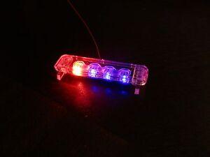 1-24-Flashing-DUAL-R-B-LED-Low-Profile-Lightbar-for-Custom-Police-Diecast-Model