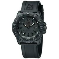 Luminox Men's 44mm Navy Seal 3050 Series Swiss Colormark Blackout Watch