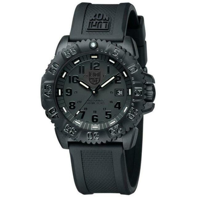 Luminox Watch Navy Seal Men's Swiss Colormark Blackout 3051.BO AUTHORIZED DEALER