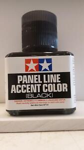 TAMIYA-87131-Panel-Line-Accent-Color-Black-For-Plastic-Model-Kit