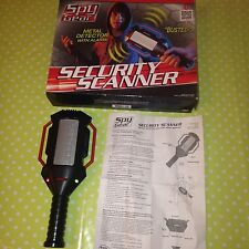 Hand Held Metal Detector with ALARM / Security Scanner by SPY GEAR Fully Working