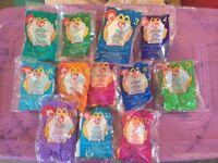 Mcdonald's Teenie Beanie Babies, 1999, Complete Set, In Packaging