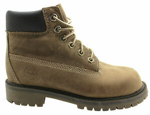 Timberland 6 Inch Premium Lace Up Youths Boots Boys Kids Brown 20703 U50