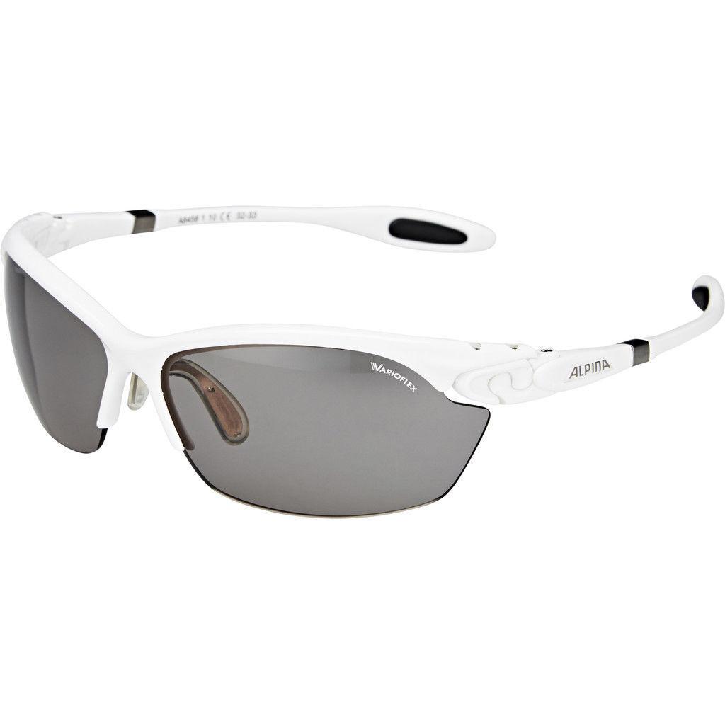 Alpina Fahrradbrille Sportbrille Sportbrille Sportbrille Twist Three 2.0 VL Weiß 2a0fdc