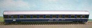Acme 52411 Sbb Cff Fms 2.kl. Couchage-voiture Bcm Eurofima Ep4 Bleu/blanc 1:87 Neuf + Neuf Dans Sa Boîte-afficher Le Titre D'origine