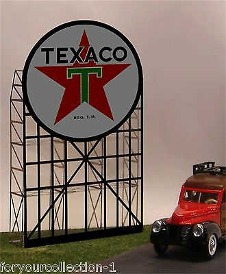 Miller/'s Texaco Animated Neon Sign O//HO # 5181 MILLER ENGINEERING