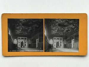 Venezia Palais Dei Doge Interno Italia Fotografia Stereo Vintage Analogica