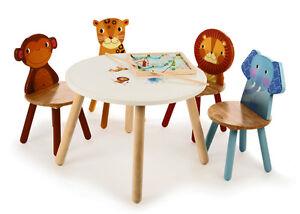 Image Is Loading BRAND NEW Tidlo Jungle Safari Childrens Wooden Chairs