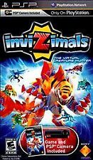 **InviZimals PSP UMD game complete case w/manual and capture card