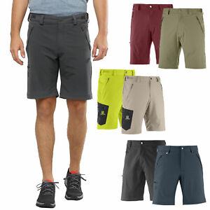 Details about Salomon Wayfarer Shorts Mens outdoorhose Trekking Trousers Shorts Function Pants New show original title