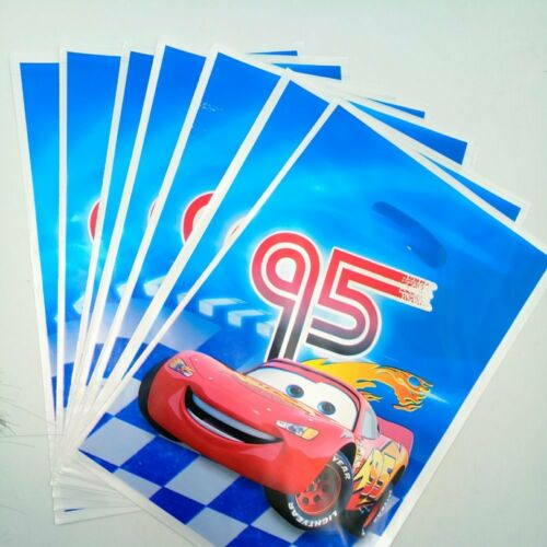Lightning Mcqueen Cars Birthday Party Boys Tableware Decoration Cups Tablecloth