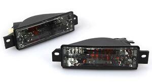 88 89 91 bmw 3 series e30 front bumper signal light smoke. Black Bedroom Furniture Sets. Home Design Ideas