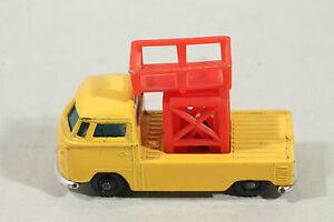 husky pick up vw volkswagen gelb mit rotem aufbau ebay. Black Bedroom Furniture Sets. Home Design Ideas