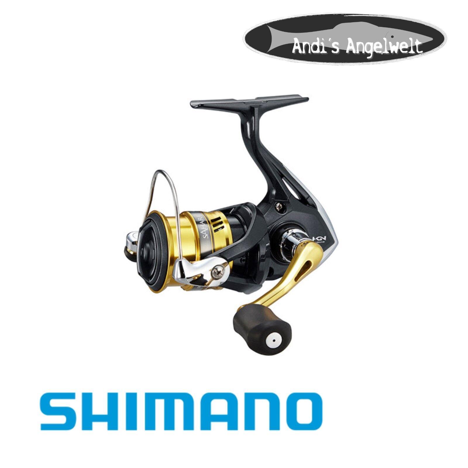 Shimano Sahara FI- alle Größen - Neuheit 2018 - Angelrolle