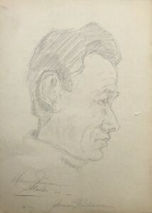 Drawing-Study-Portrait-of-a-Man-Portrait-of-a-Man-Signed-Jorgensen