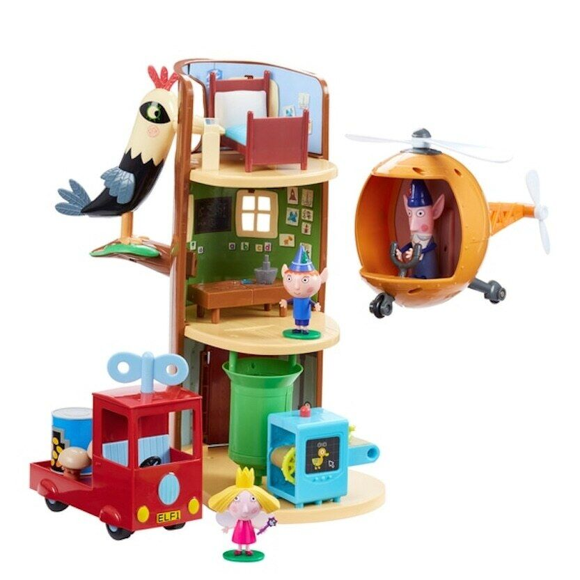 Ben And Holly Elf Tree Adventure Set Toy Gift