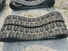 Set Of Bobcat B400x86cx52 Prowler Rubber Tracks C Lug Tread Used