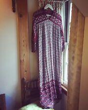 Long Indian Cotton/ Indian Gauze Dress