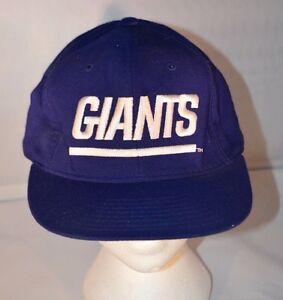 3d7ce92b405 New York Giants Fitted Hat 7 3 8 New Era Pro Model Cap Team NFL ...