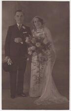 Social History Wedding Group, Watson's Studio Aberdare RP Postcard #26, B579