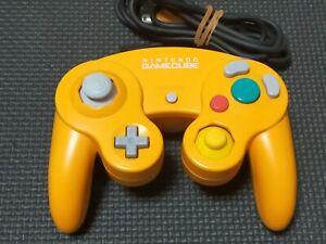 Nintendo-GameCube-Wii-U-GC-Controller-Orange-Official-DOL-003-Tested-Working