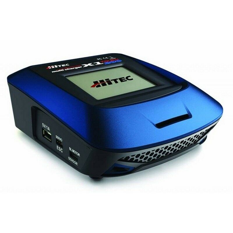 Hitec 44209 X1-200 1-6S LiPo NiMH Touch DC Battery Charger