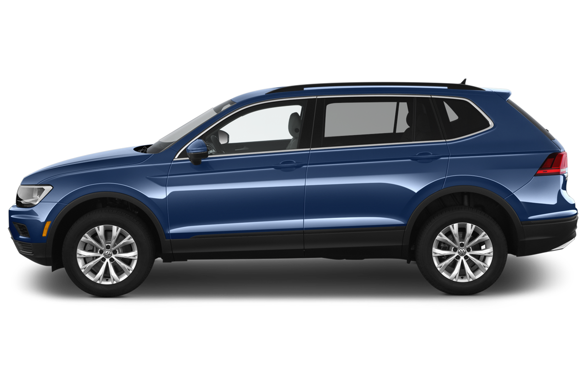 Volkswagen Tiguan side view