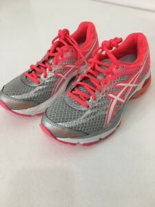 735a1b323e ASICS WOMEN S GEL FLUX 4 RUNNING SHOES GRAY HOT PINK WHITE US 6 NWT ...