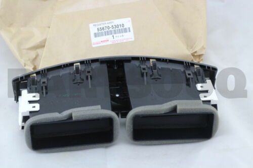 NO.3 55670-53010 INSTRUMENT PANEL 5567053010 Genuine Toyota REGISTER ASSY