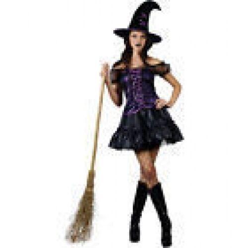 Magic Incantesimo Strega Lady Costume Costume Di Halloween x Adulto Piccolo Ridotto chiaro