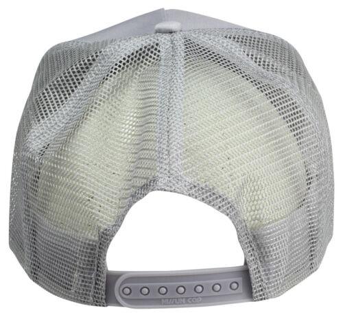 Wholesale Lot 12 Trucker Hats Solid Grey Gray Mesh Adjustable Snapback CAP dozen