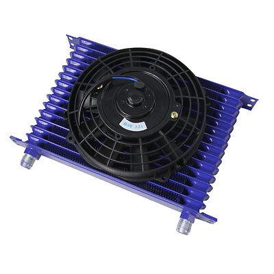 ALLOYWORKS 15 ROW 10AN POWDER-COATED OIL COOLER ALUMINUM ENGINE//TRANSMISSION Universal PRO