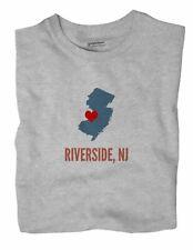 Riverside New Jersey NJ T-Shirt HEART