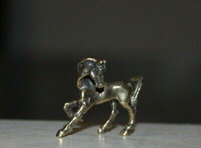Horse Metallfigurchen Pferd Figurine auch für Setzkasten # 5