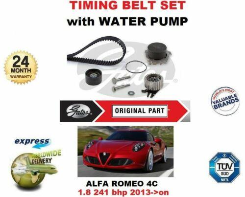 /> Sur Arbre À Cames Courroie de distribution set avec pompe à eau Pour ALFA ROMEO 4 C 1.8 241 BHP 2013