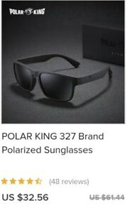 20df7f16937da Image is loading POLAR-KING-327-Polarized-Fishing-Sunglasses-Mens-PolarKing
