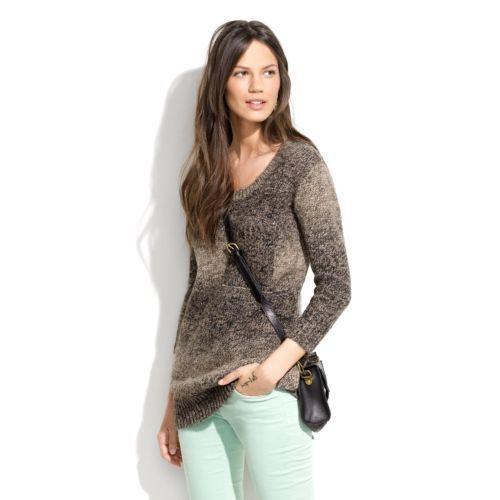 Wallace Madewell NWT Sz XS Rowboat Alpaca Merino Wool Knit 3 4 Sleeve Sweater