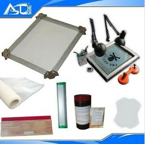 Self-tensioning-Screen-Printing-Frame-Stretcher-Exposure-Unit-Kit
