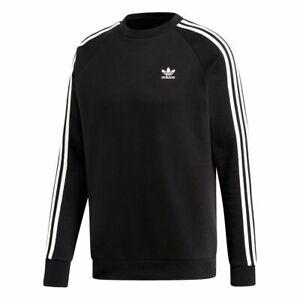 7e12d6ae5 Adidas Originals Men's 3 STRIPES Sweatshirt Black/White DV1555 d   eBay