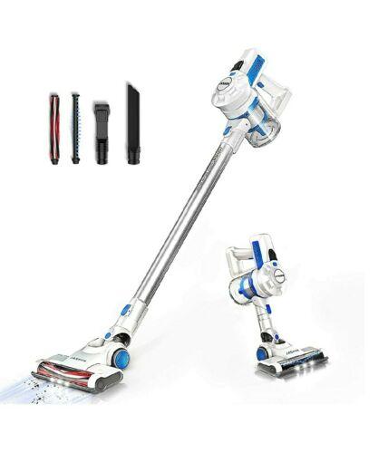Jashen Battery Vacuum Cleaner, Cordless Vacuum Cleaner, 2-in-1 Lighter Battery...