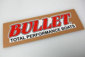 Bullet Boats Bass Boat Carpet Graphic Multiple Sizes Decal - Bullet bass boat decalsbass boat decals ebay
