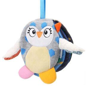 Gift-Animal-Doll-Baby-Cloth-Book-Soft-Animal-Kids-Doll-Cartoon-Infant-Cute-Owl