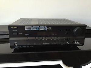 ***ONKYO TX-SR505 7.1 Home Theater HDMI Receiver & Five ...
