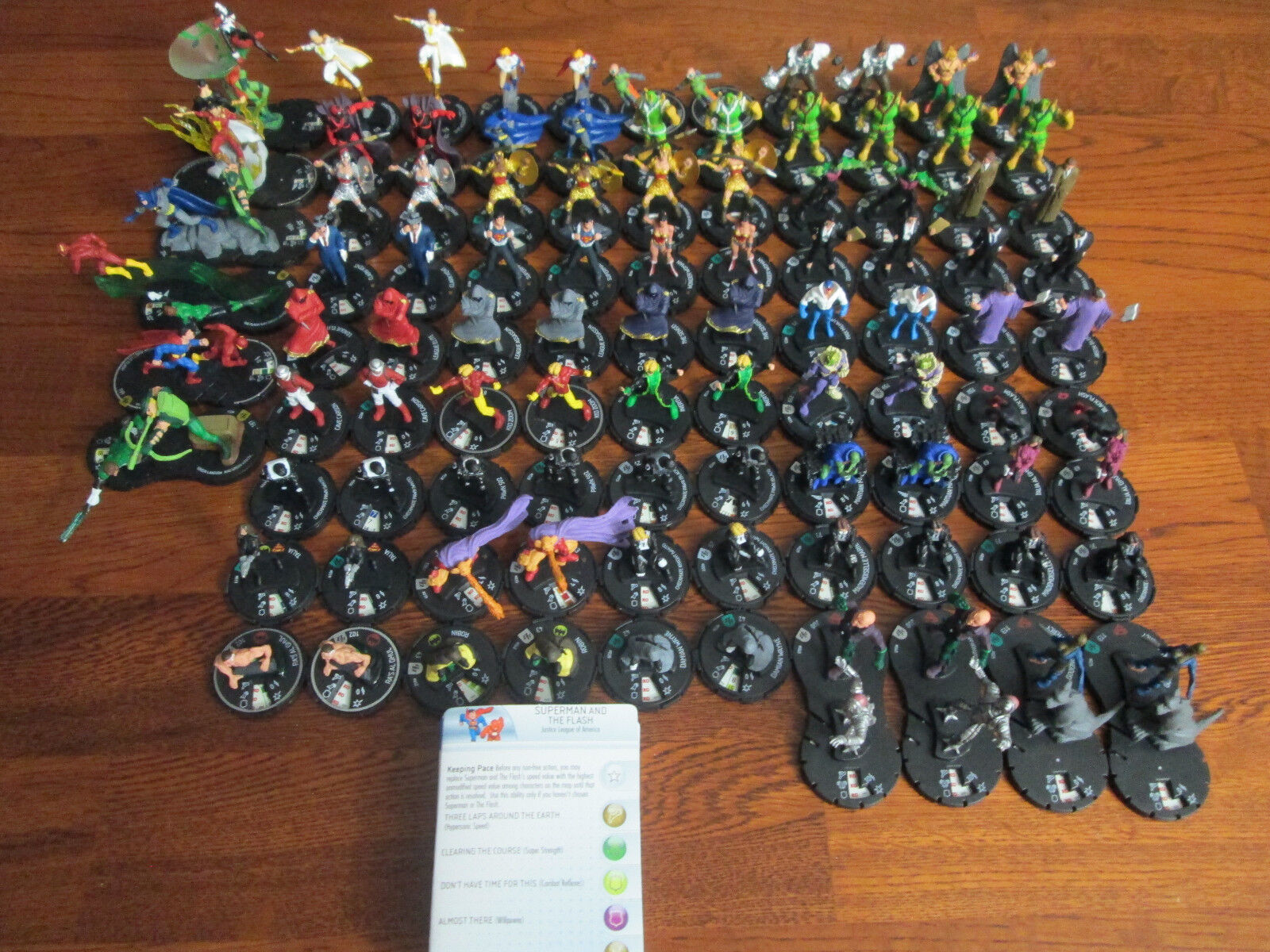 DC HeroClix - Near Complete Brave and the Bold Set With Extras