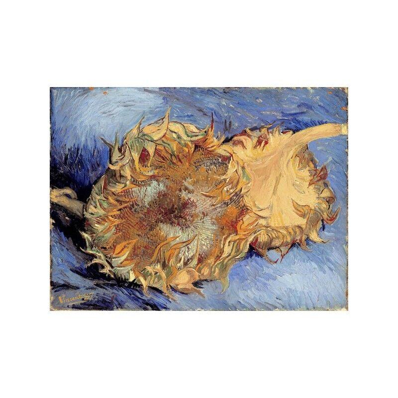 Quadro su Pannello in Legno MDF MDF MDF Vincent Van Gogh Tournesols | être Dans L'utilisation  | Achats En Ligne  | De Qualité Constante  adcfba